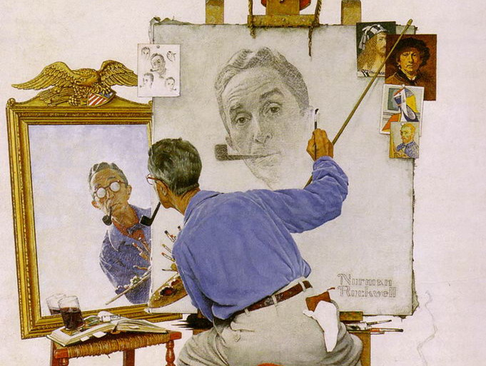 a short biography of norman rockwell Norman rockwell's image of rosie the riveter received mass distribution on arkansas acquired norman rockwell's iconic rosie the riveter painting for its.
